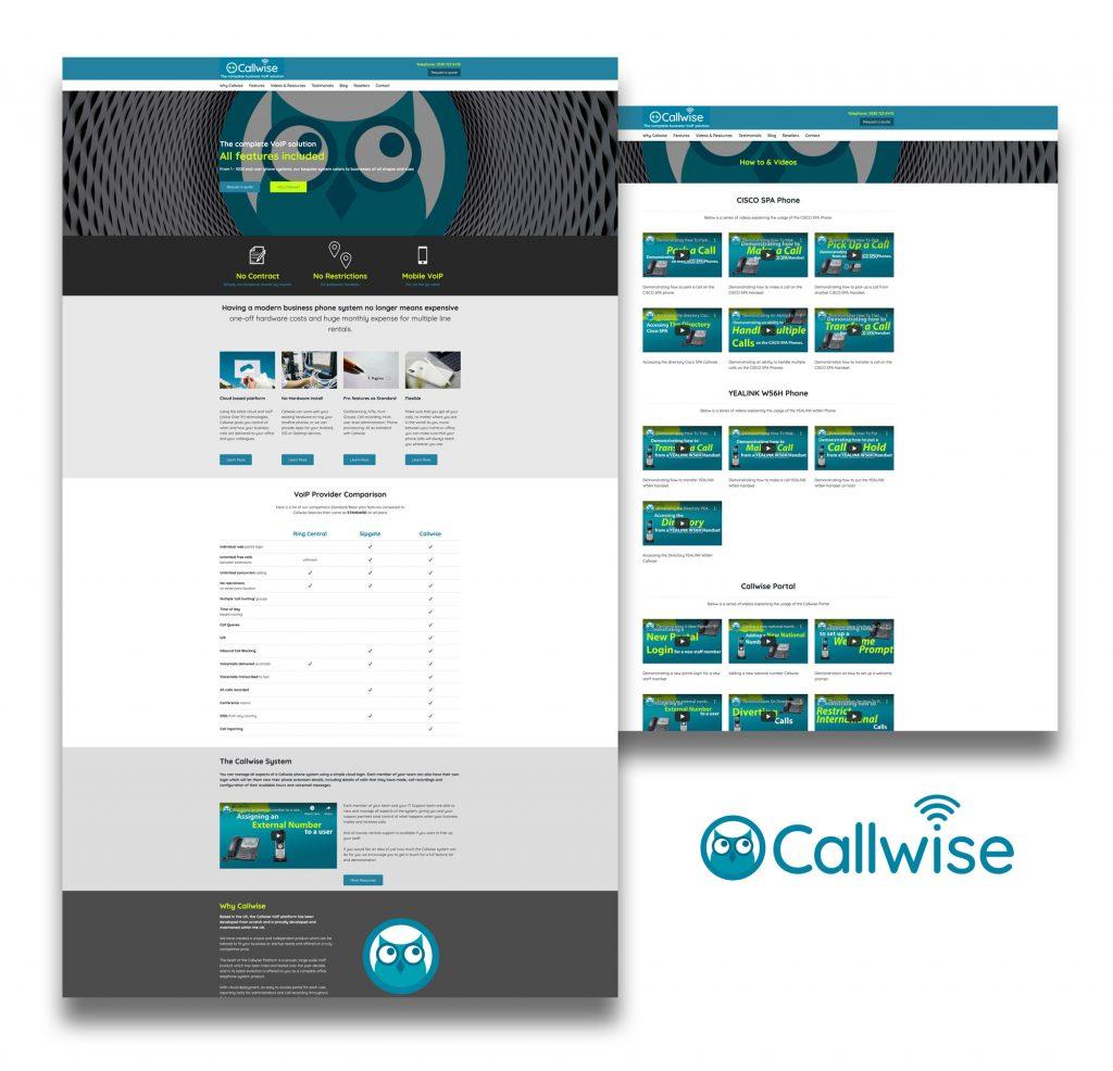 callwise website image